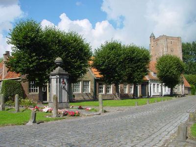 Marktplein Sint Anne
